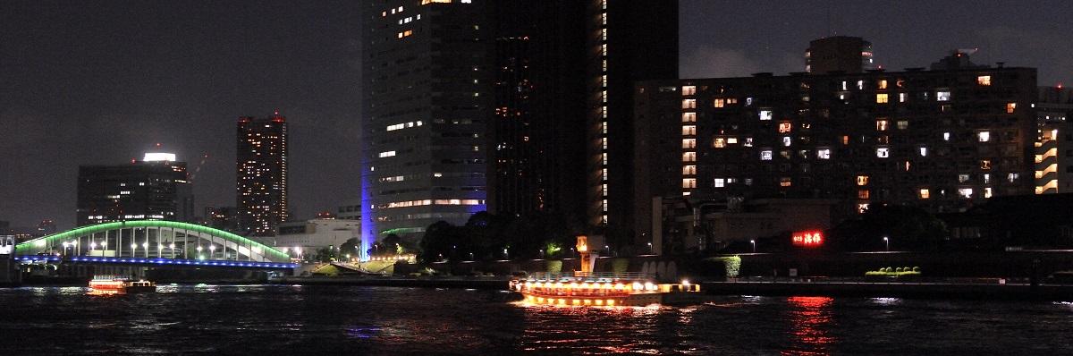 船で行く!東京の台所「築地」の料亭