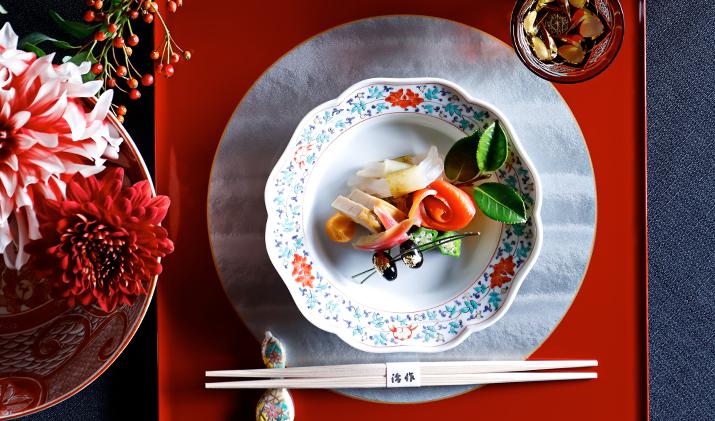 細部までこだわり抜いた日本の食の美を