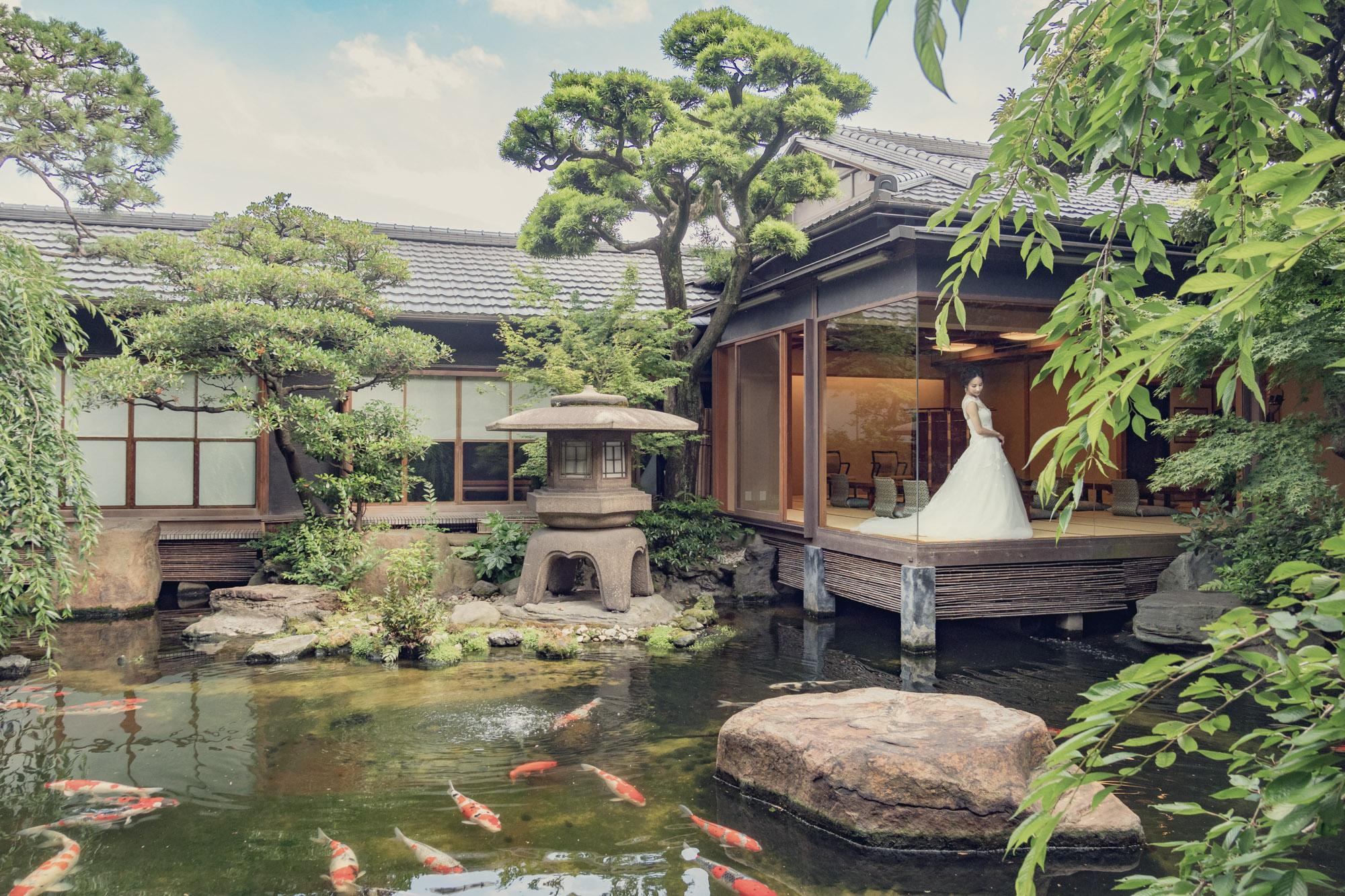 銀座約800坪の敷地と日本庭園を散策!